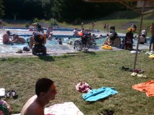 Bazének v Pařezu